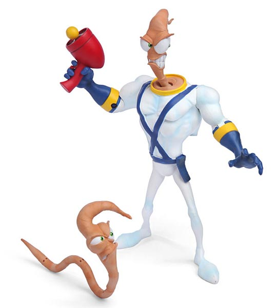 Earthworm Jim Action Figure