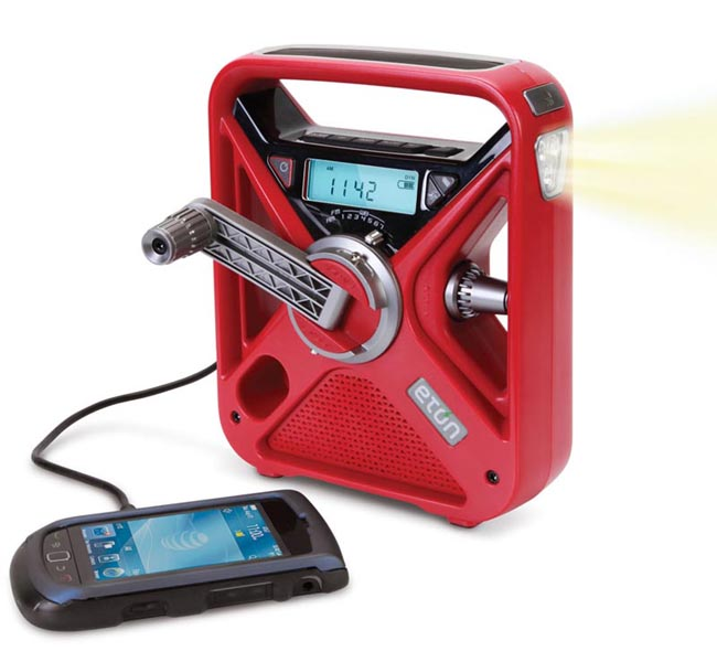 Etón Eco-Friendly FRX3 Emergency Radio with Backup Battery