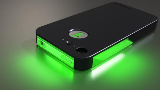 FLASHr iPhone 4 Case with LED Flash Notifier