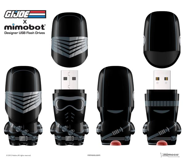 G.I. Joe X Mimobot USB Flash Drive Series