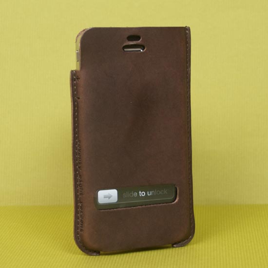 Gadi Leather iPhone 4 Case
