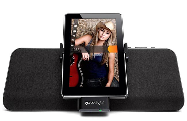 Grace Digital MatchStick Kindle Fire Dock Speaker