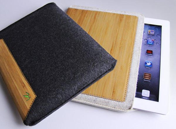 Grove Wool Felt iPad Sleeve