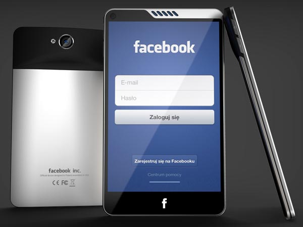 HTC Facebook Smartphone Design Concept