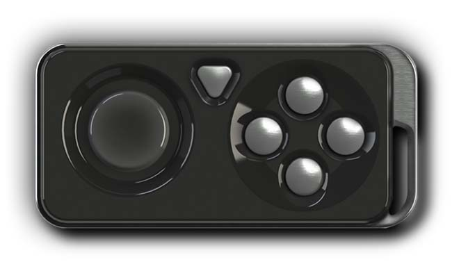 iMpulse Portable Wireless Game Controller for iOS Devices