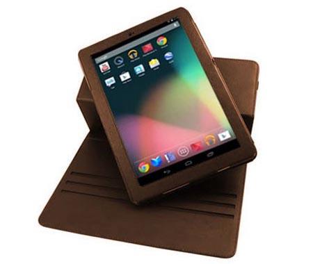 Leather Style Rotating Google Nexus 7 Case