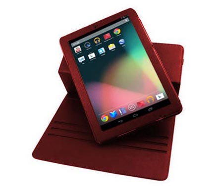 Leather Style Rotating Google Nexus 7 Case