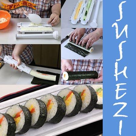 Make Favorite Sushi Rolls with The Sushi Bazooka