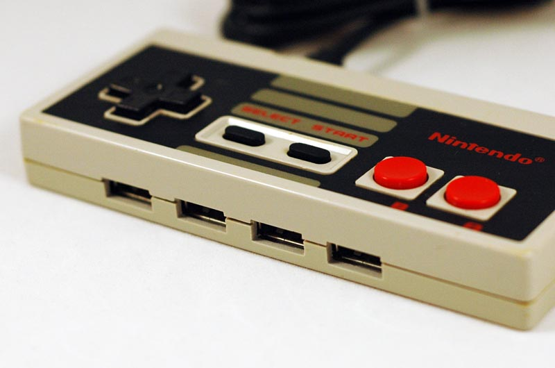 NES Controller USB Hub