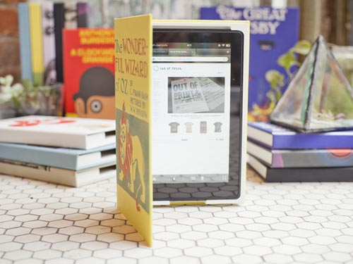Out of Print Protective Cases for iPad and Kindle Fire