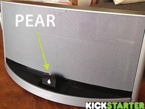 Pear Bluetooth Adapter for Dock Speaker