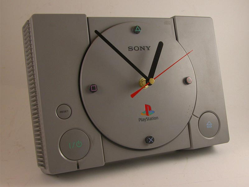 PlayStation Game Console Wall Clock