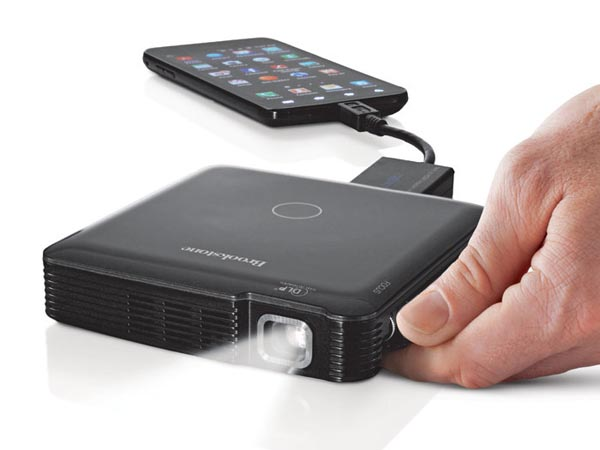 Pocket sized hdmi pico projector gadgetsin for Laptop pico projector
