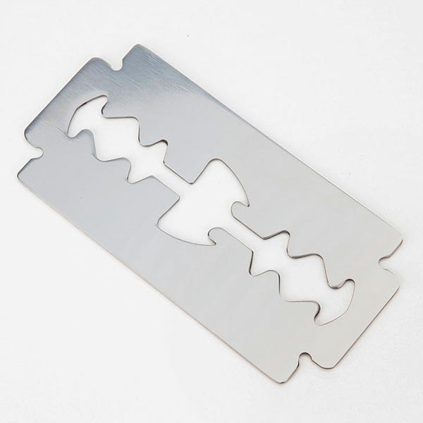 Razorblade Shaped Bottle Opener