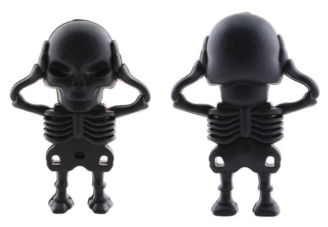 Skeleton Figure USB Flash Drive