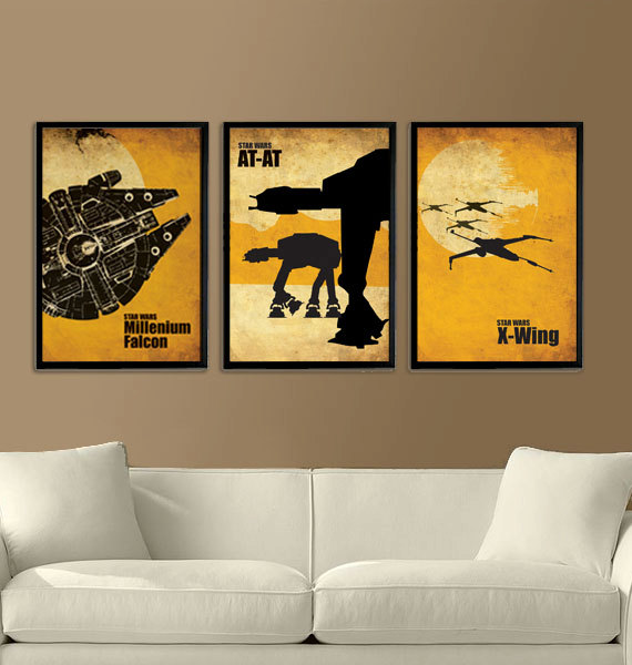 Star Wars Vintage Poster Set