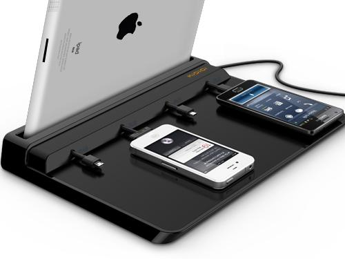 Super Charging Station For Mobile Devices Gadgetsin