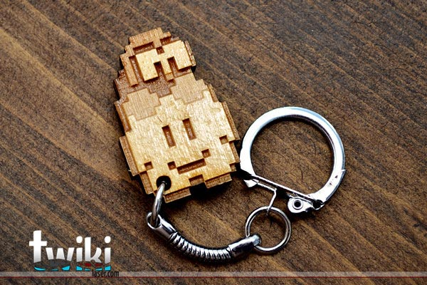 Super Mario Themed Keychains Gadgetsin