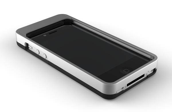 Swipe iPhone 4 Case with Integrated Touch Screen Cleaning System