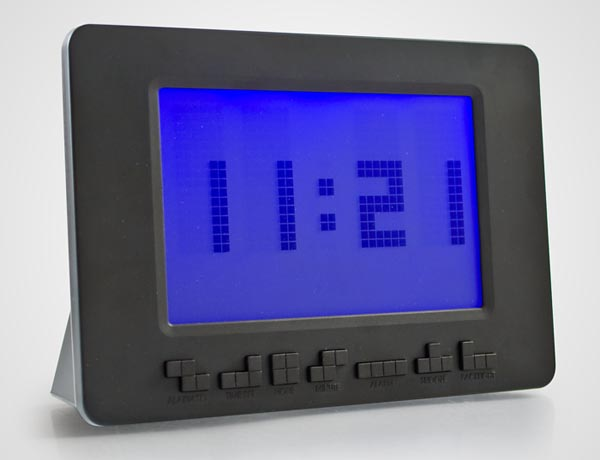 Tetris Themed Alarm Clock