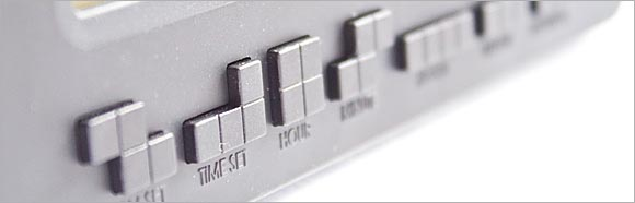 Tetris Themed Alarm Clock