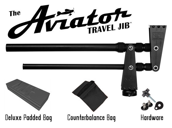 The Aviator Travel Camera Jib