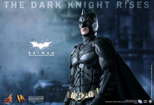 The Dark Knight Rises Collectible Batman Action Figure