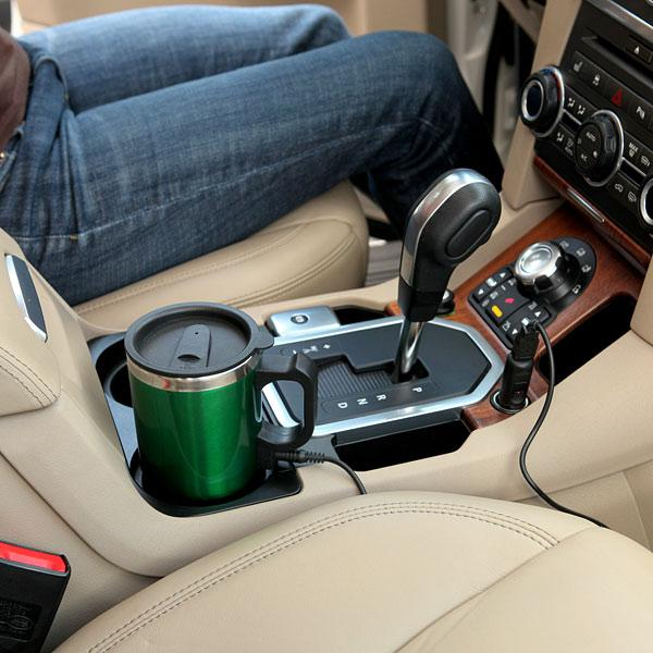 The Dual Heated Travel Mug
