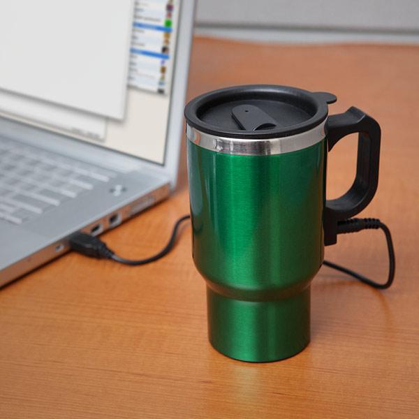 The Dual Heated Travel Mug