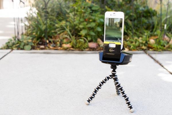 The iPhone Swivl Personal Camera Crew