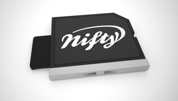 The Nifty MiniDrive SD Card Adapter for MacBook