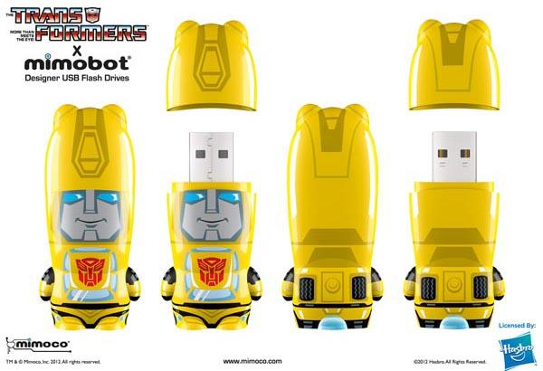 Transformers Mimobot USB Flash Drive Series