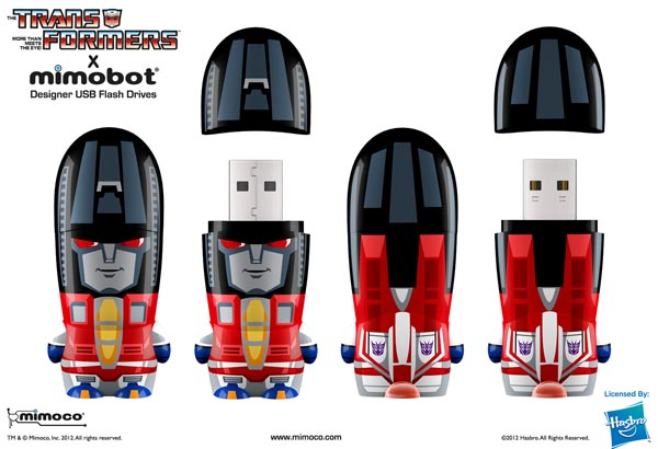 Transformers Mimobot USB Flash Drive Series
