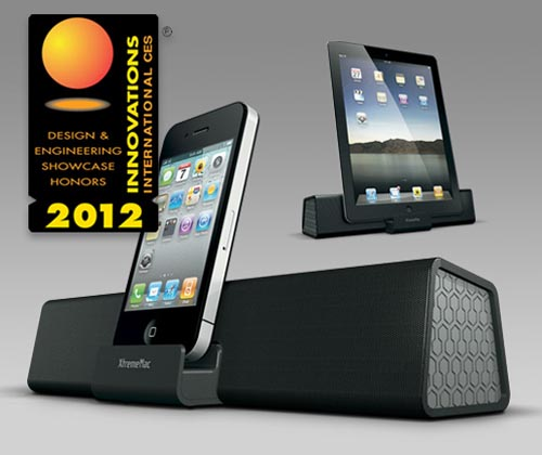 XtremeMac Soma Travel Dock Speaker for iPhone, iPad and iPod