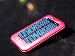 USB Solar Powered Backup Battery