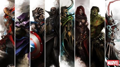 The Avengers from the Middle Ages