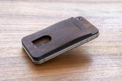 Precision Pocket Card Holder for iPhone 4 and 4S