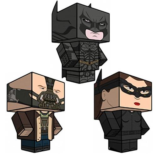 The Dark Knight Rises Paper Crafts
