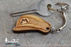 Super Mario Themed Keychains