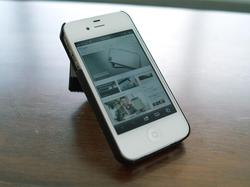 Arctic Wallet Stand iPhone 4 Case