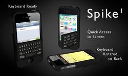 Spike iPhone 4 Case with Real Keyboard