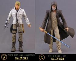 Cyber Wars An Awesome Star Wars Themed Action Figure Series by Sillof