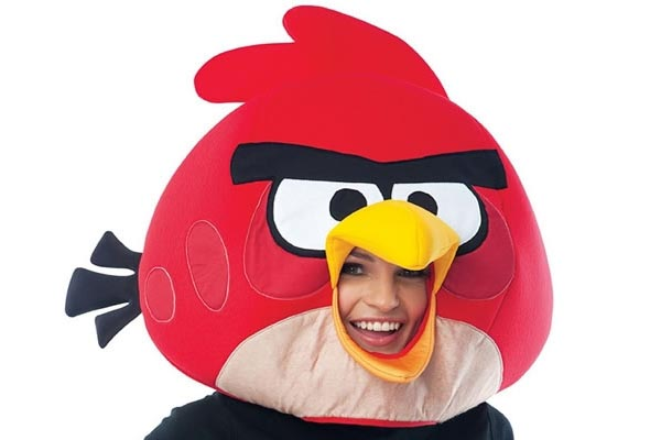 Angry Bird Stuffed Dog Toy