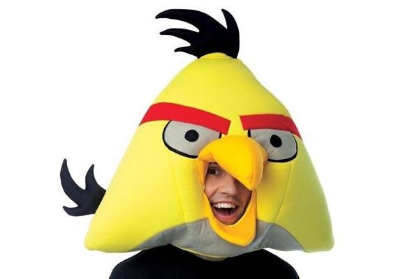 Angry Birds Plush Mask