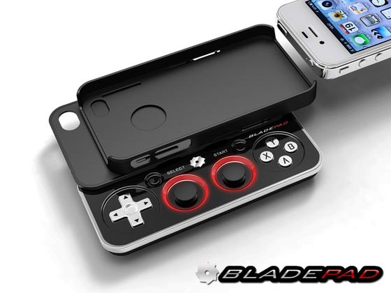 Bladepad Detachable iPhone Gamepad