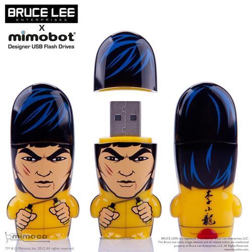 Bruce Lee Mimobot Designer USB Flash Drive