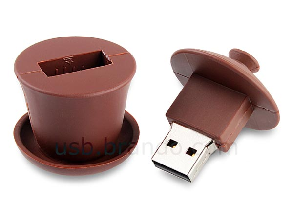 Chinese Teacup Shaped USB Flash Drive