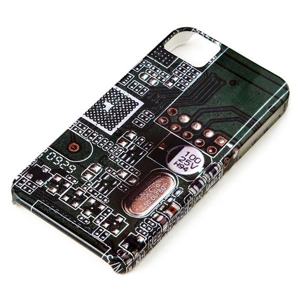 Computer Circuit Board Styled iPhone 4 Case
