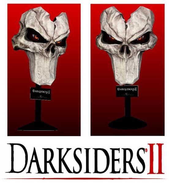 Darksiders II Death Mask Paper Craft