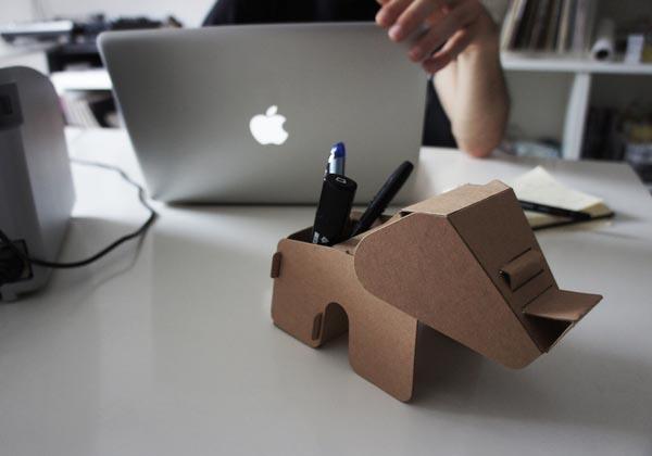 D I Y Eco Animal Shaped Cardboard Gadgets Gadgetsin